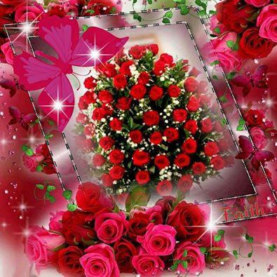 thiep hoa hong